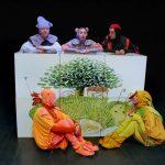 """Alytaus miesto teatro spektaklis vaikams """"Ambrozijus, Purkius ir..."""". Režisierė ir inscenizacijos autorė Inesa Pilvelytė. Foto © Vytautas Stanionis"""