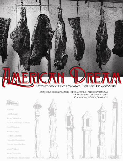 "Alytaus miesto teatro spektaklis ""AMERICAN DREAM"""