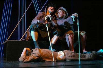 Alytaus miesto teatro spektaklis vaikams MEDINUKO, VARDU PINOKIS, PAMOKANČIOS ISTORIJOS