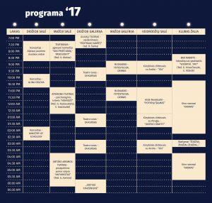 Festivalio COM MOON A programa