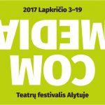 Teatrų festivalis COM•MEDIA lapkričio 3-19 dienomis