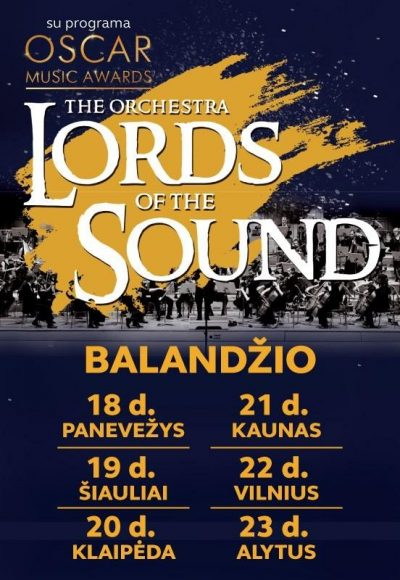 Koncertas LORDS OF THE SOUND