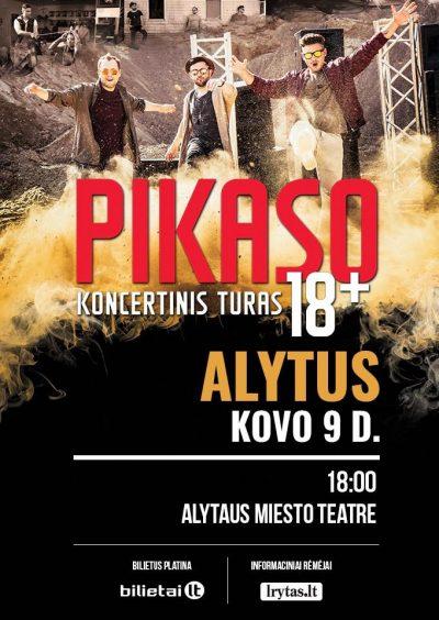 PIKASO koncertinis turas 18+