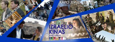 """Kino projektas """"Izraelio kinas tavo mieste"""""""