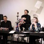 III dramaturgų konkurso gerausių pjesių teatralizuotų skaitymų akimirkos