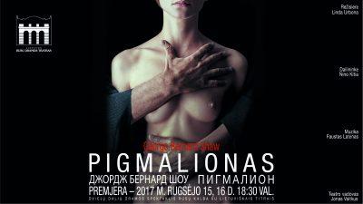 """Lietuvos rusų dramos teatro spektaklis """"PIGMALIONAS"""". D.Matvejevo nuotr."""