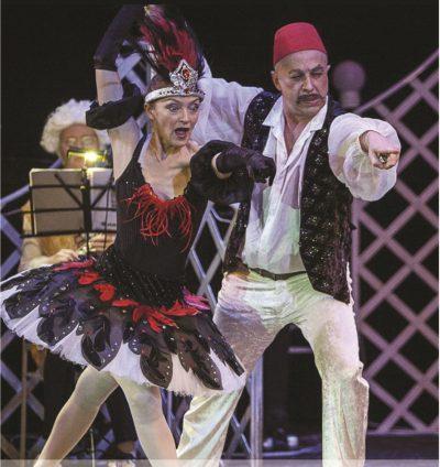 """Berlyno muzikinio teatro """"Kabarė Loli"""" operos ir baleto spektaklis """"O kieno tu būsi su fraku?"""""""