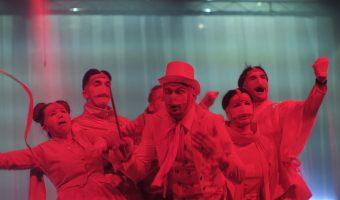 """Alytaus miesto teatro spektaklis """"LAISVES ARENA"""" (Foto.Audrius Šidlauskas)"""