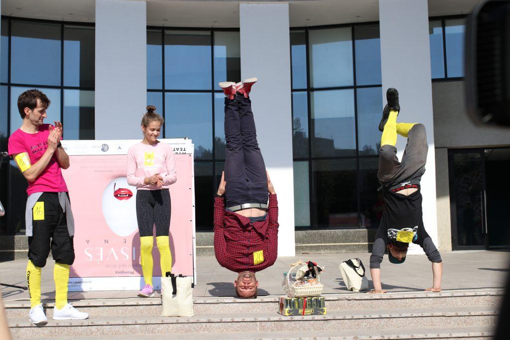 Iš kairės: Tomas Kunčinas, Austėja Čeberakaitė, Artūras Mažeika, Deividas Prunskas. ©MiškoMotė