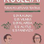 """""""Kūjeliai"""" - turas po Lietuvos teatrus"""