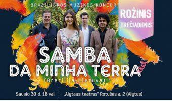 Samba_Rozinis treciadienis