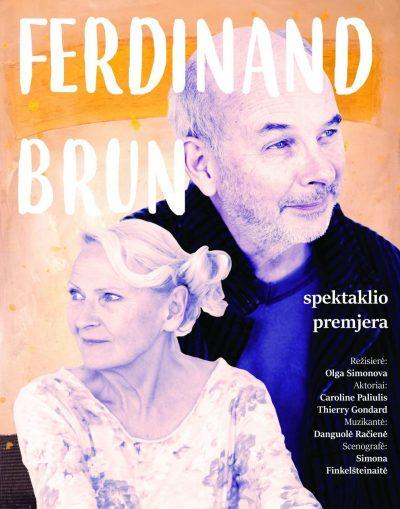 Ferdinand Brun plakata