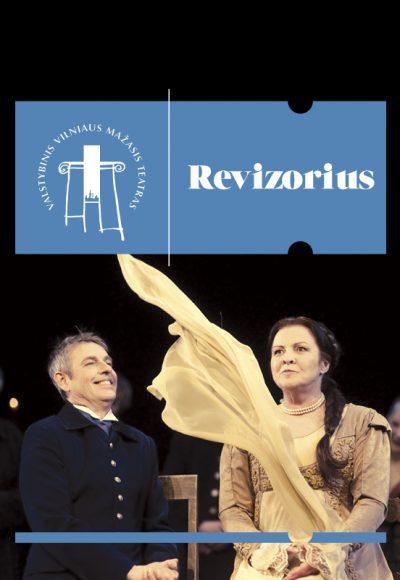 """Vilniaus mažojo teatro spektaklis """"REVIZORIUS"""". Rež. Rimas Tuminas"""