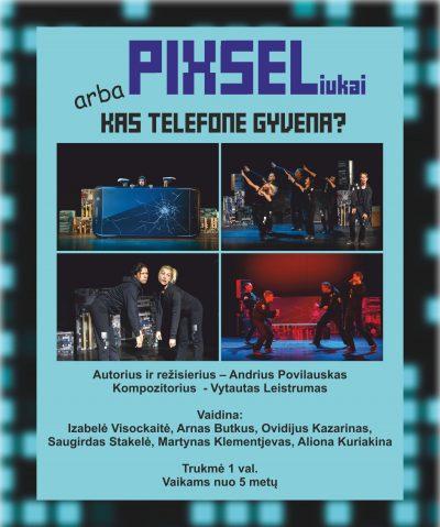 Plakatas Pikseliukai